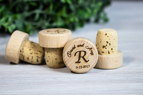Wine Stoppers, Personalized Wine Cork