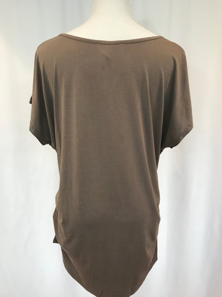 Side Tuck Drop Shoulder Tunic