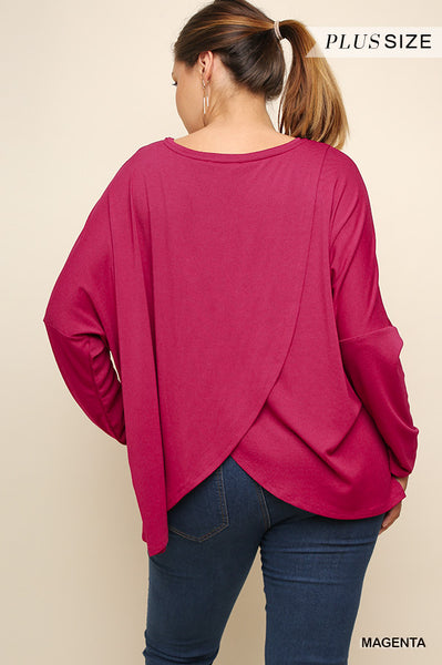 Tulip Back Top