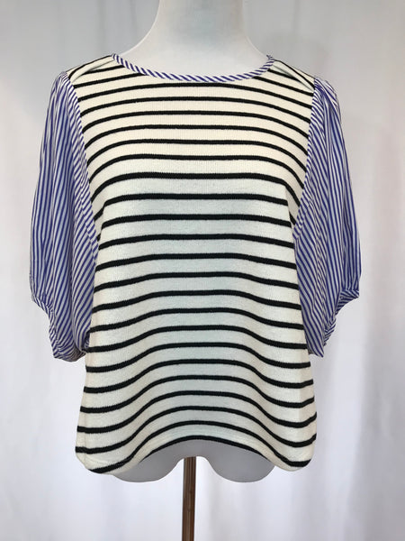 Mixed Striped Top