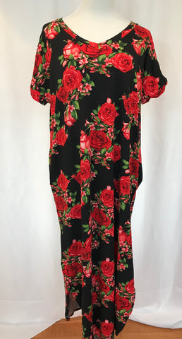 Floral Long Tunic Dress