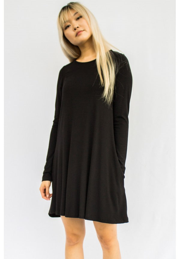 Bamboo Swing Dress