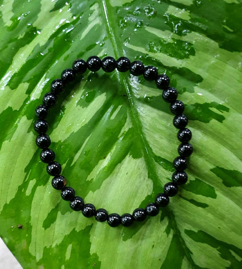 Black Tourmaline bracelet (6mm)