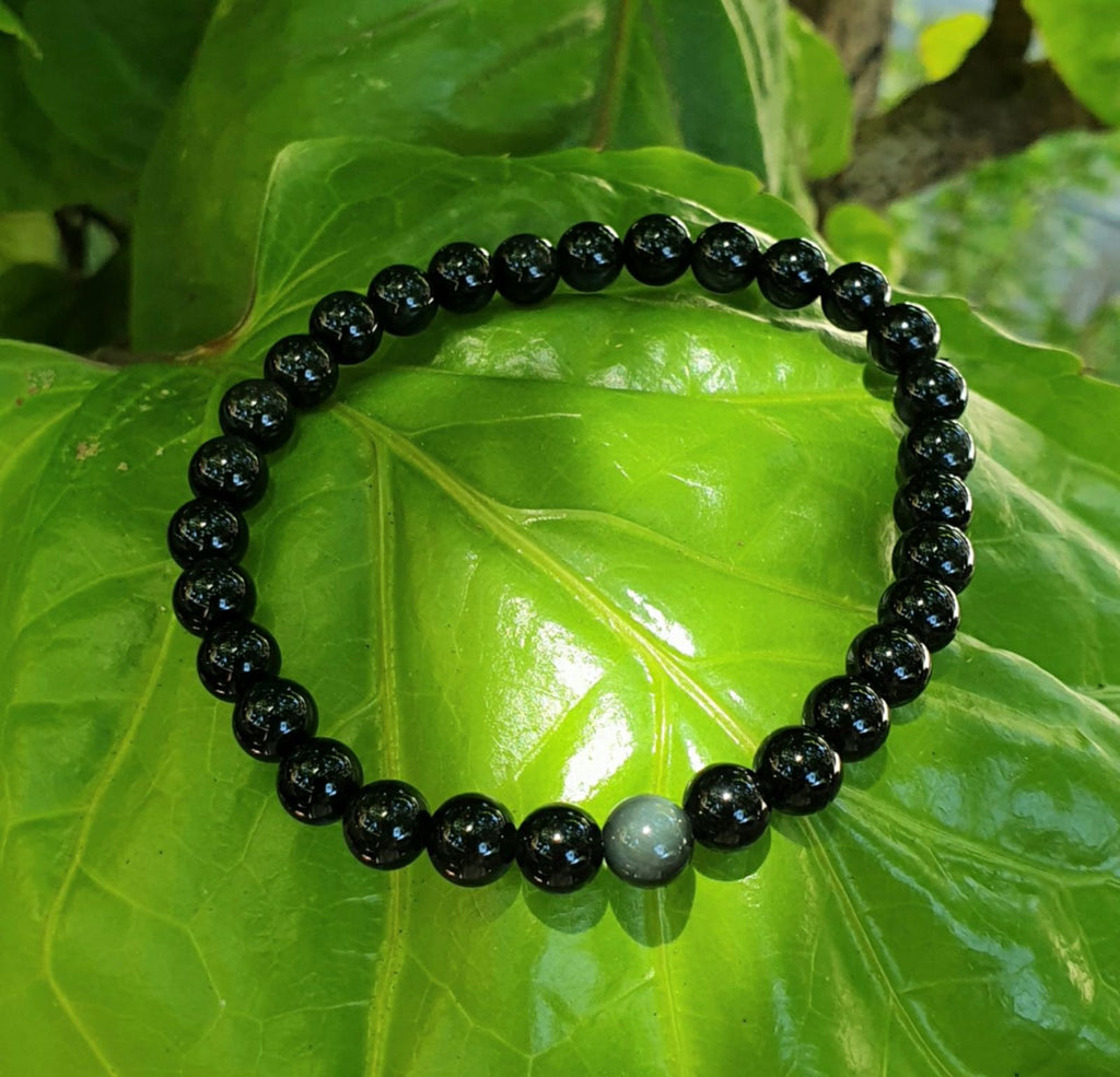 Black Obsidian bracelet (6mm)