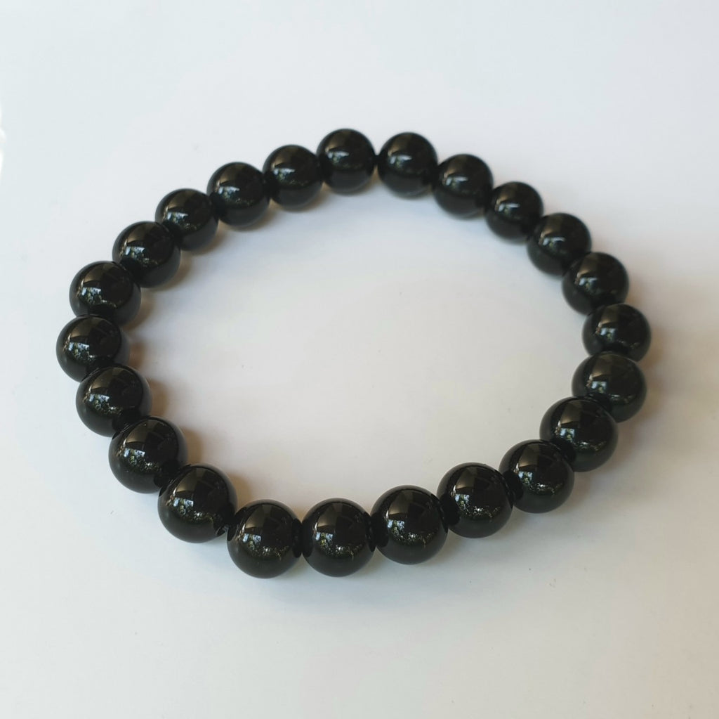 Black Obsidian bracelet (8mm)