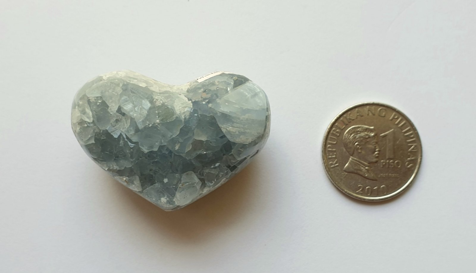 Heart-shaped Celestite CH-03