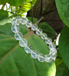 Clear Quartz bracelet (8mm)