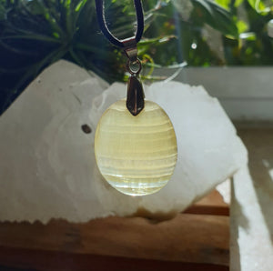 Golden Flourite pendant GFP-07