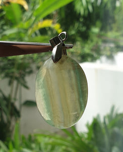 Gold and Green Flourite GGF-02