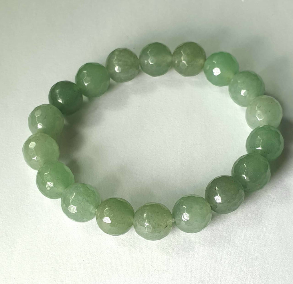Green Aventurine (faceted) - IndigoCrystals