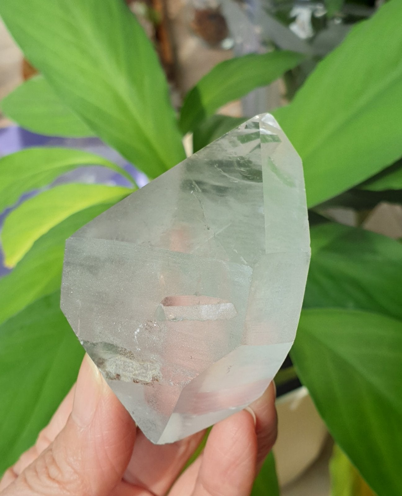Double terminated Crystals Quartz from Brazil QDT-03