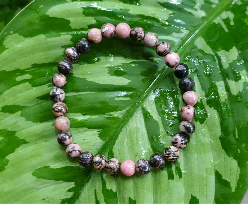 Rhodonite bracelet (6mm)