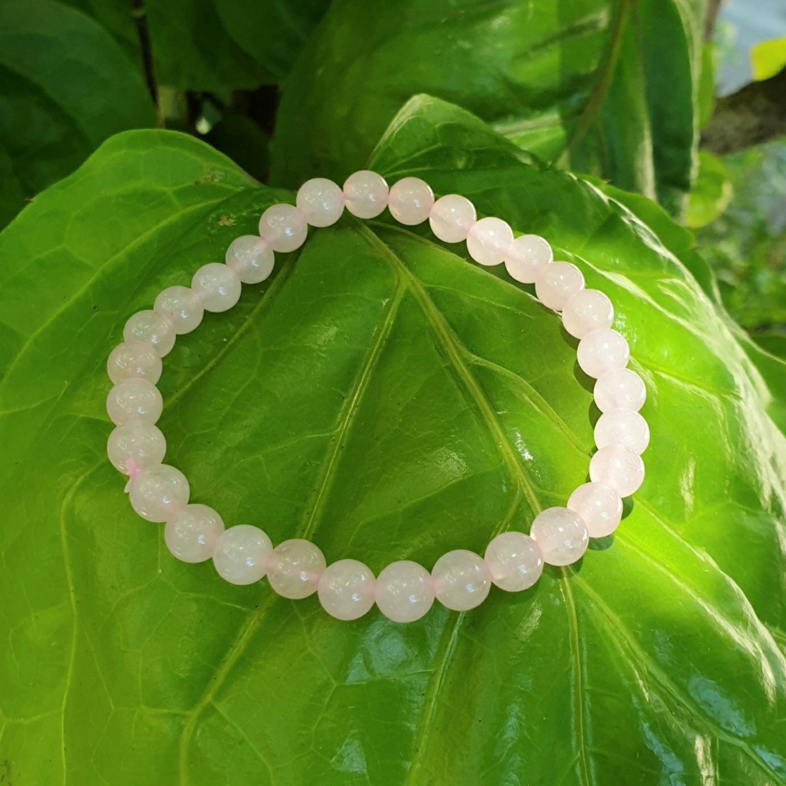 Rose Quartz bracelet (6mm)