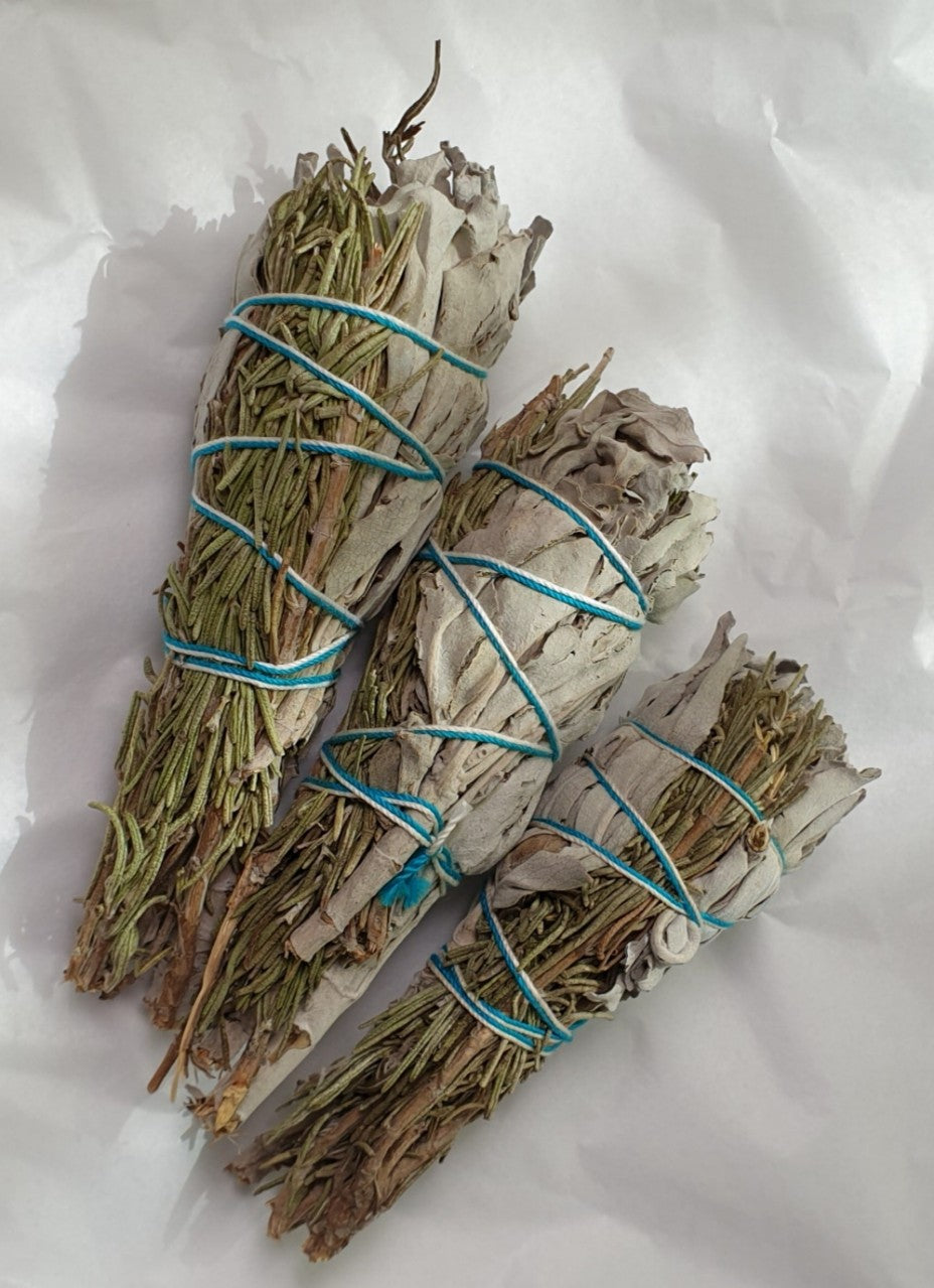 White Sage with Rosemary