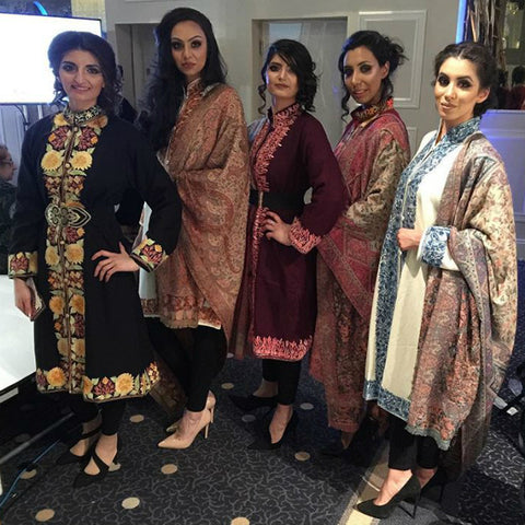 Saverah Events Manchester - Backstage with our beautiful models