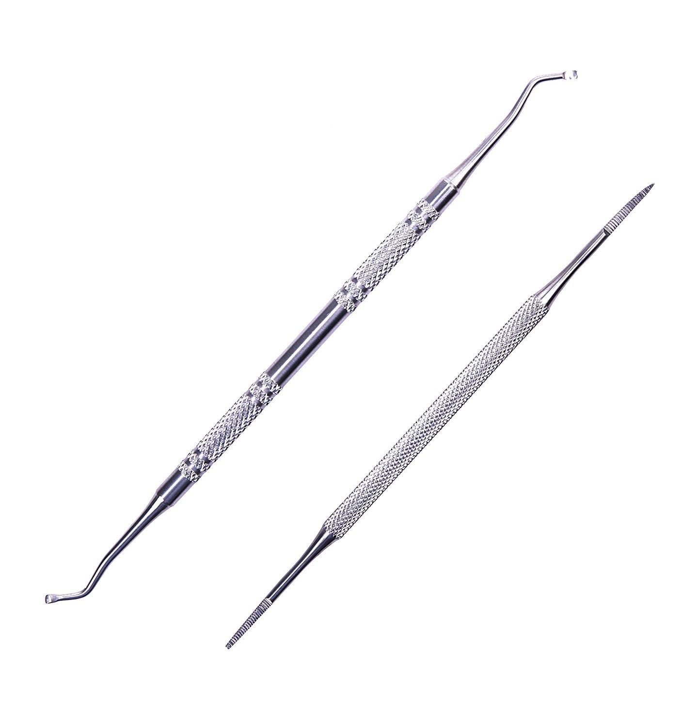 Aboval Ingrown Toenail File and Lifter Double Side Stainless Steel ...