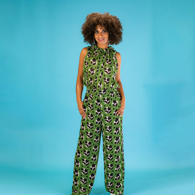 Traffic People The First Touch of Spring – Whisper Her Name Sleeveless Floral Jumpsuit