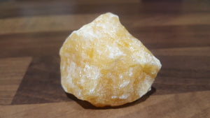 Honey Calcite Chunk