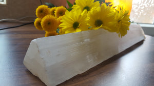 Selenite Triangular Block