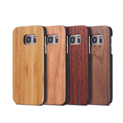 Bamboo Wood Case For Samsung Galaxy S6/S6 Edge, S7/S7 Edge, S8/S8 Plus - We Wood Wear