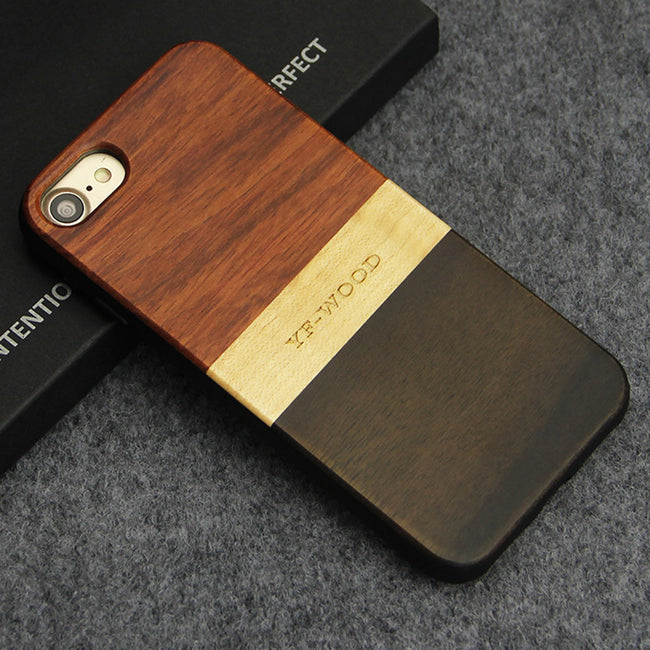 Natural Wooden Phone Case For iPhone 7/7 Plus, 8/8 Plus - We Wood Wear