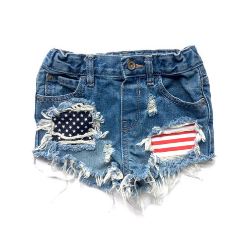 Let Freedom Ring Shorts