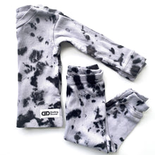 Snug fit Black tie dye Pajamas
