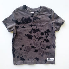 Black Tie-dyed t-shirt