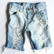 Holey Shred Shorts- distressed denim- baby- toddler