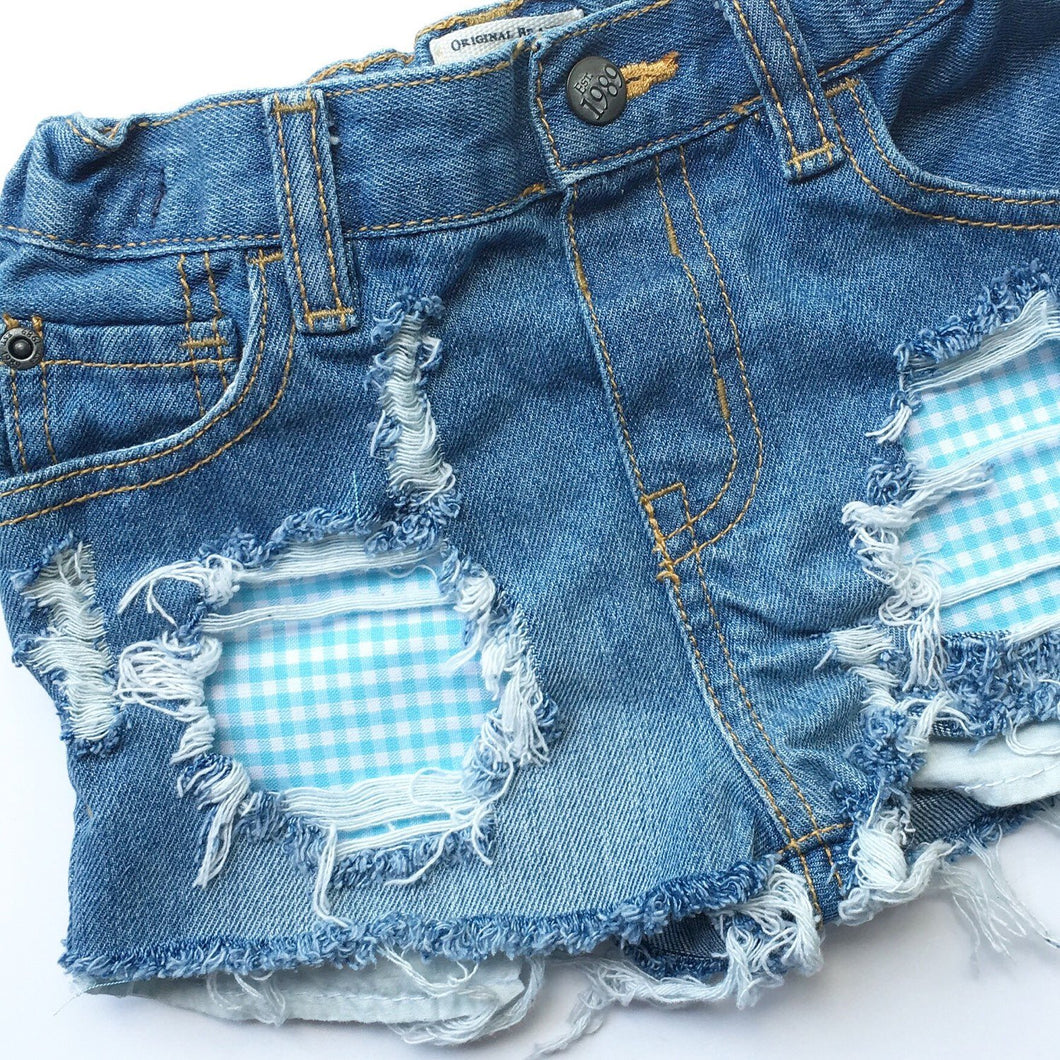 Spring Fever Shorties- unisex- distressed