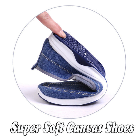 Extra Flexy Canvas Shoes
