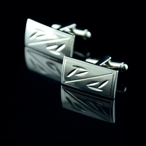 Bamboo Printing Suit Cufflinks - Shop-Stylish-Guy