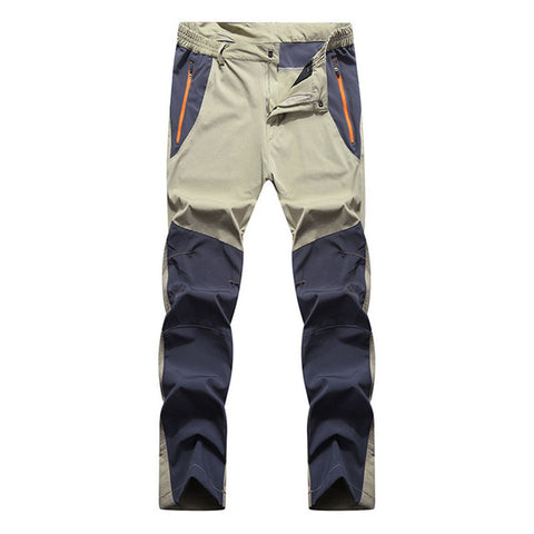 Men's Elastic Summer Trekking Pants