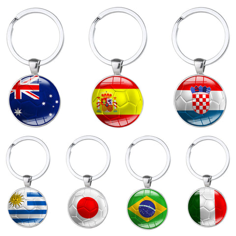 2018 Russia World Cup Football Keychains