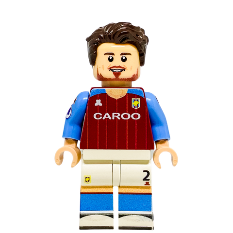 Matty Cash Aston Villa LEGO Minifigure