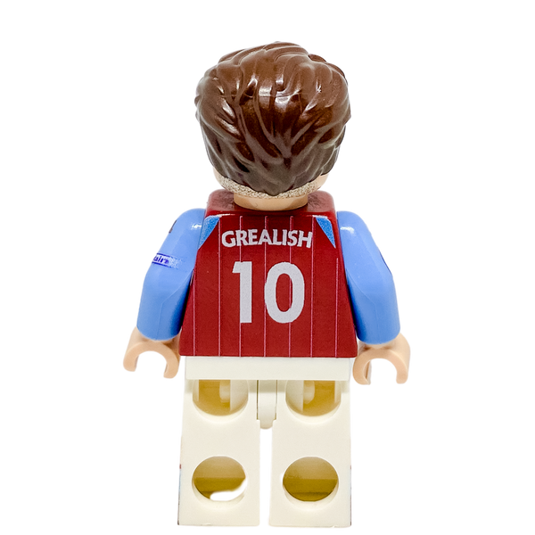 LEGO Jack Grealish Minifigure Aston Villa
