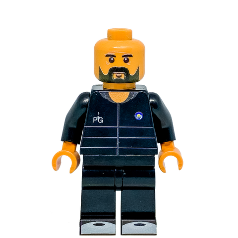 Pep Guardiola  LEGO Manchester City Minifigure