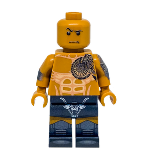 The Rock LEGO minifigure