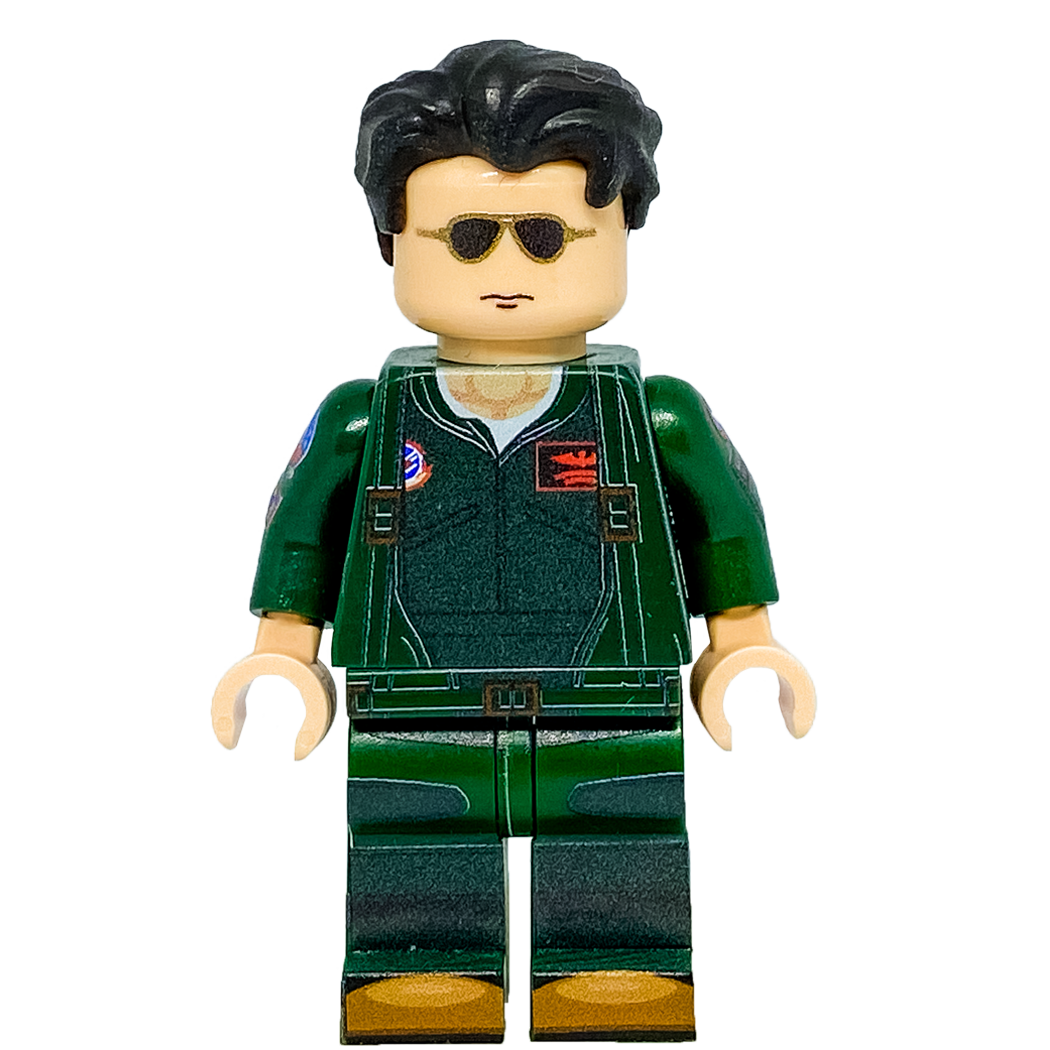 Maverick LEGO Minifigure Top Gun