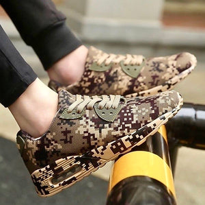Camo Print Style Sneakers