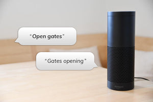 Alexa opening gates with digiGate