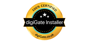 digiGate certified installer badge