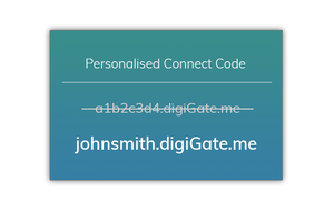 Personalised Connect Code
