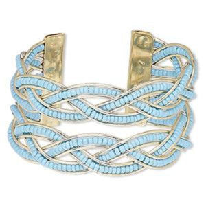 Turquoise Blue Cuff Bracelet