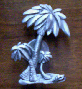 Heirloom Hourglass custom charms Custom Palm Tree Charm Closure fo Unity Sand Ceremony Hourglass