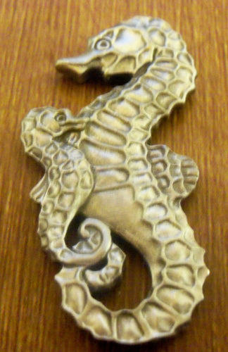 Heirloom Hourglass custom charms Heirloom Hourglass Custom Sea Horse Charm Closure