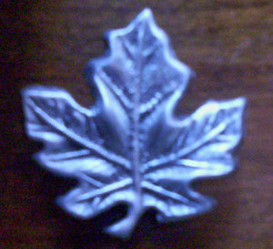 Heirloom Hourglass custom charms Unity Hourglass Custom Maple Leaf Charm Closure
