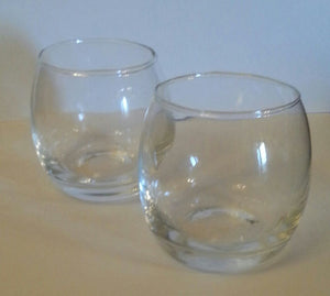 Heirloom Hourglass unity sand ceremony accessory Set of 2 Glass Sand Holders