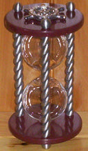 Heirloom Hourglass Unity Sand Ceremony Hourglass The Bordeaux Unity Sand Ceremony Hourglass by Heirloom Hourglass