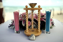 Heirloom Hourglass Unity Sand Ceremony Hourglass The Hanalei Wedding Unity Sand Ceremony Hourglass by Heirloom Hourglass